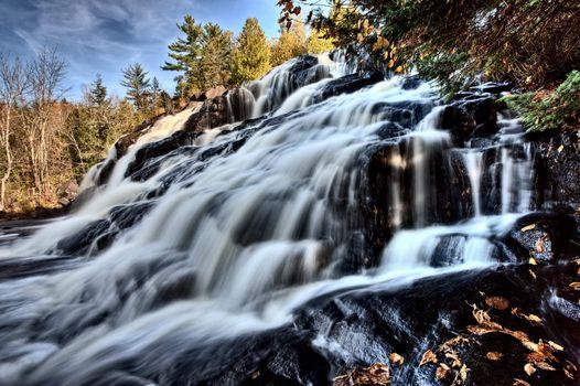 Northern Michigan UP Waterfalls Bond Falls