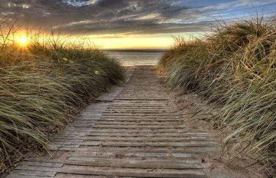 Beach Entrance