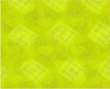 Texture fabrics with hearts, illustration