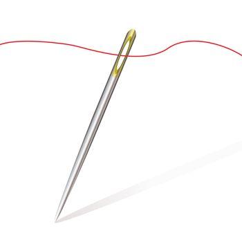 sew needle thread