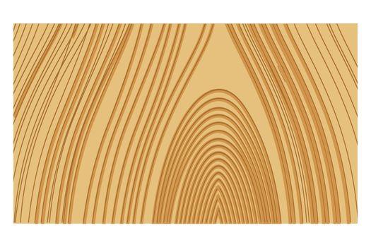 illustration of wooden retro background