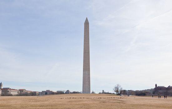 Washington, DC. Memorial to George Washington.