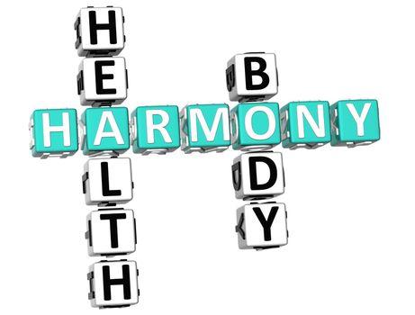 Harmony Health Body Crossword