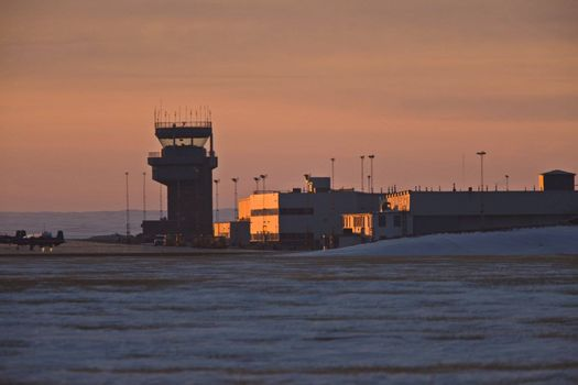 Airport Tower 15 Wing Air Force Base Moose Jaw