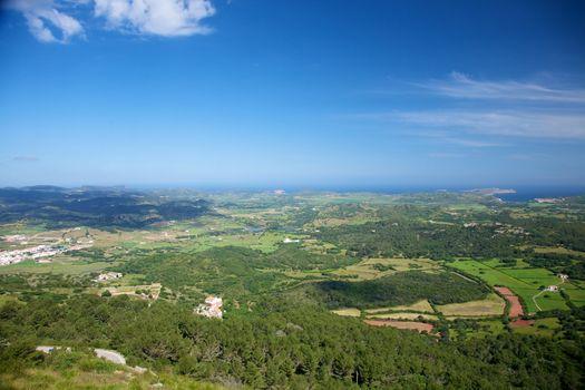 Menorca aerial view