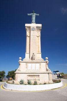 monument at Toro mountain