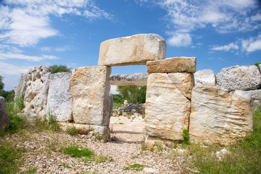prehistoric entrance