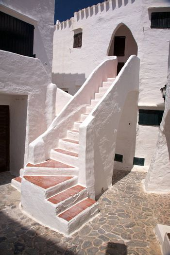 stairs to arch