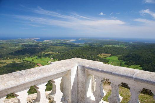 view from balcony at Menorca