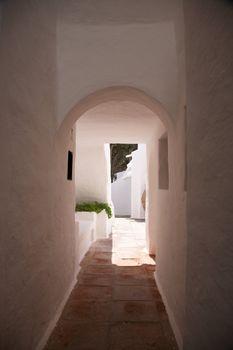 white passage outdoor