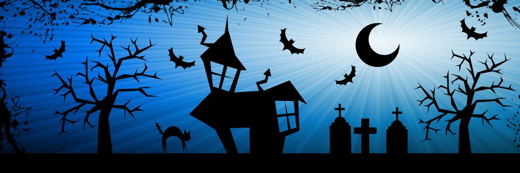Halloween nightmare background