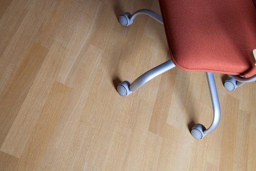 office chair on a floor
