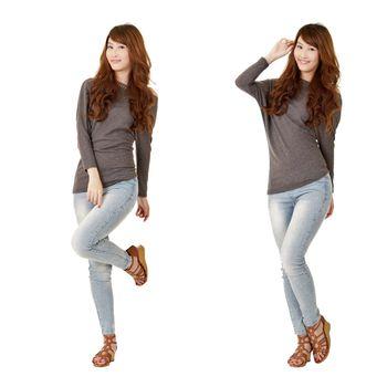 Model poses