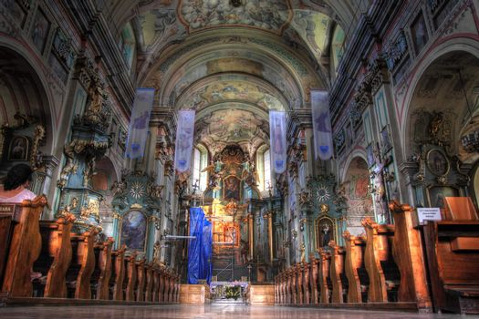 Franciscan church in Przemysl