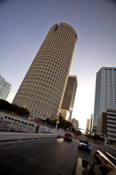 Unique buildings in Tampa Bay Florida