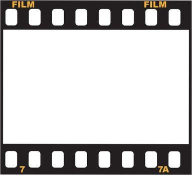 Illustration of frame of film