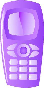 symbolic illustration of mobile phone