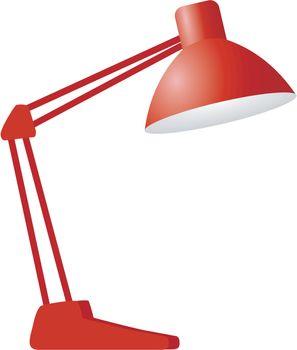 construction desk lamp