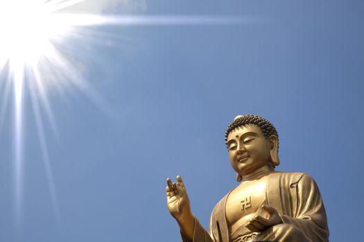 giant buddha of Fo Guang Shan in taiwan