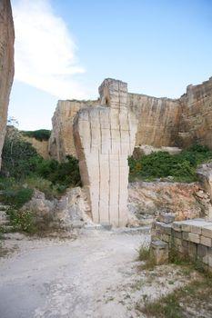 great sculpture at quarry