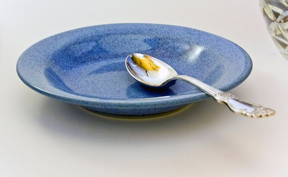 tablespoon blue plate