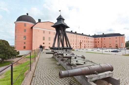 The King Castle in Uppsala City Sweden