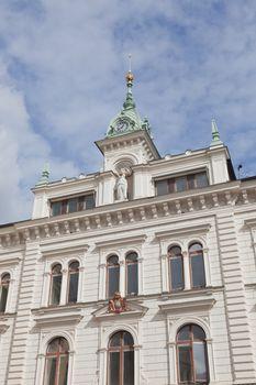 The city center of Uppsala in Sweden
