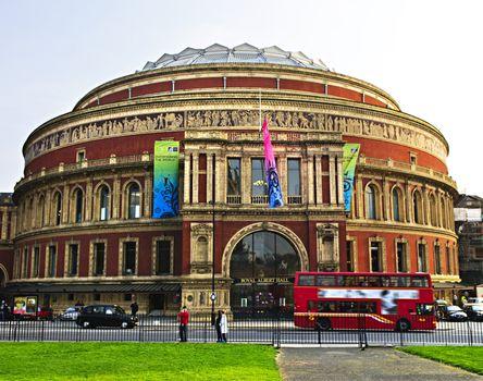 Royal Albert Hall building in London England