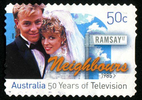 AUSTRALIA - CIRCA 2006: stamp printed by Australia, shows wedding, circa 2006