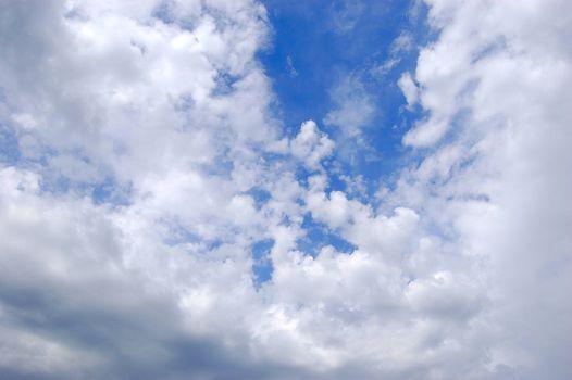 summer day sky