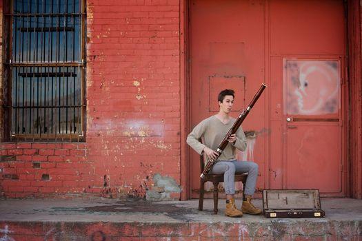 Bassoon Musician