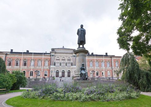 The famous Uppsala University in Sweden - the oldest university in Scandinavia