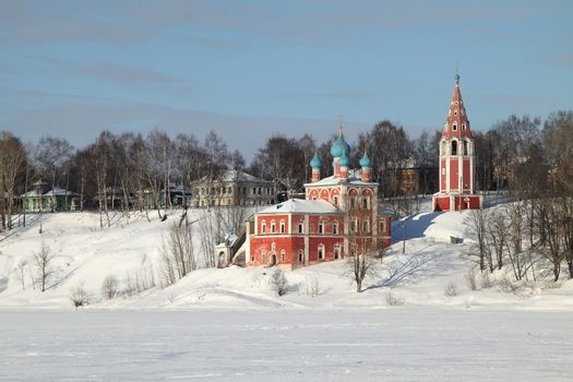 The Church of Transfiguration and Kazan Virgin