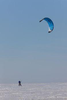 parasail snowboarding