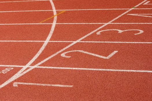 race track finish line detail sports concepts