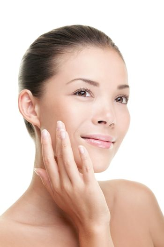 Beauty woman skin care