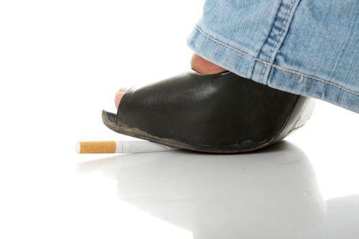 Tobacco addiction metaphor