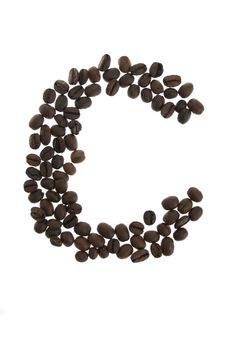 Coffe letter C