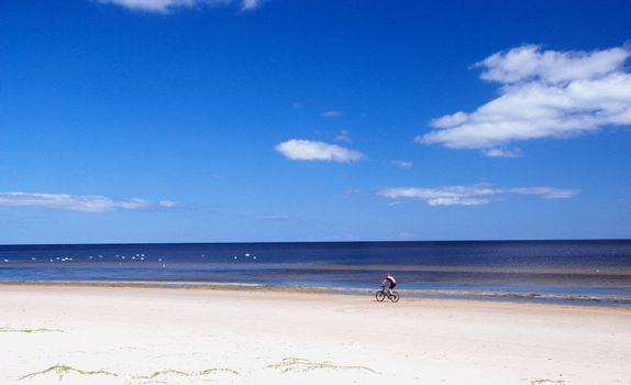 Healthiest and most pleasant cycling in summer at the seaside