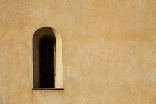 Window and Stucco