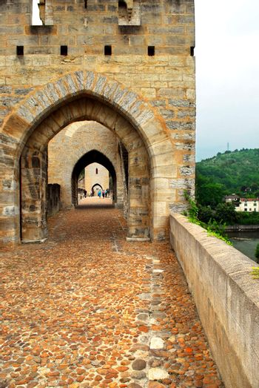 Valentre bridge in Cahors, France