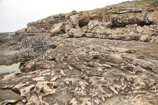 erosioned reef