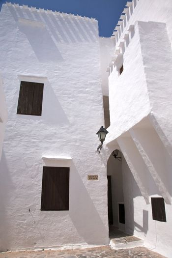 front of typical house