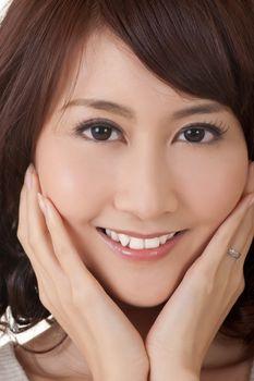 Glamor of Asian beauty