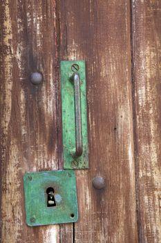 Handle and Keyhole