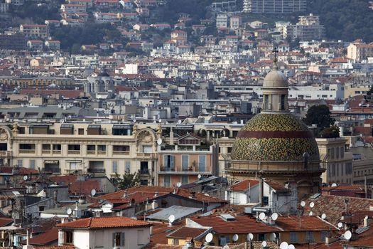 Sainte-Reparate Dome and Nice