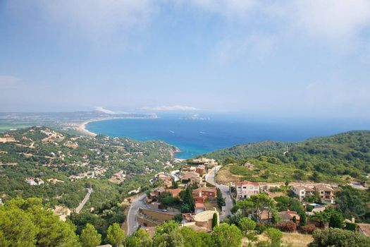 coastline from Begur