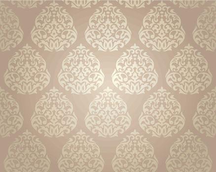seamless damask wallpaper
