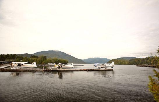 Float plane base at Prince Rupert