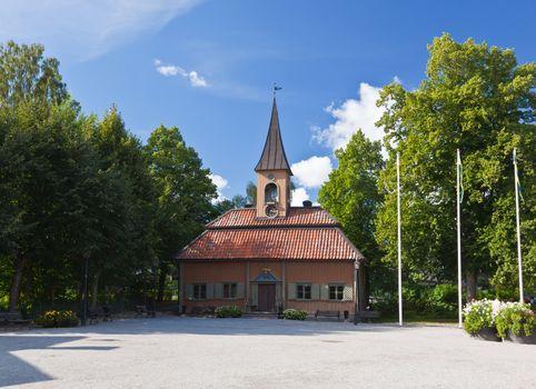 a village hall near uppsala in Sweden
